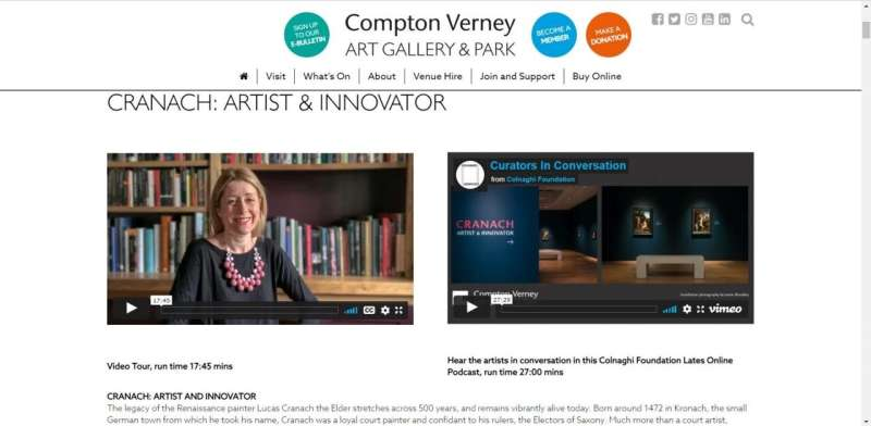 Online museum exhibitions will be more prominent post COVID-19