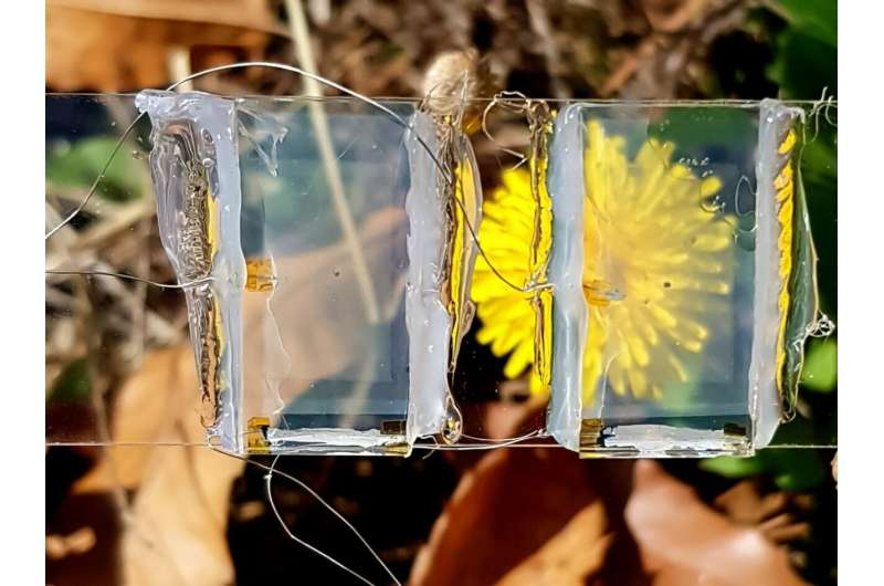 On the road to invisible solar panels: How tomorrow's windows will generate electricity
