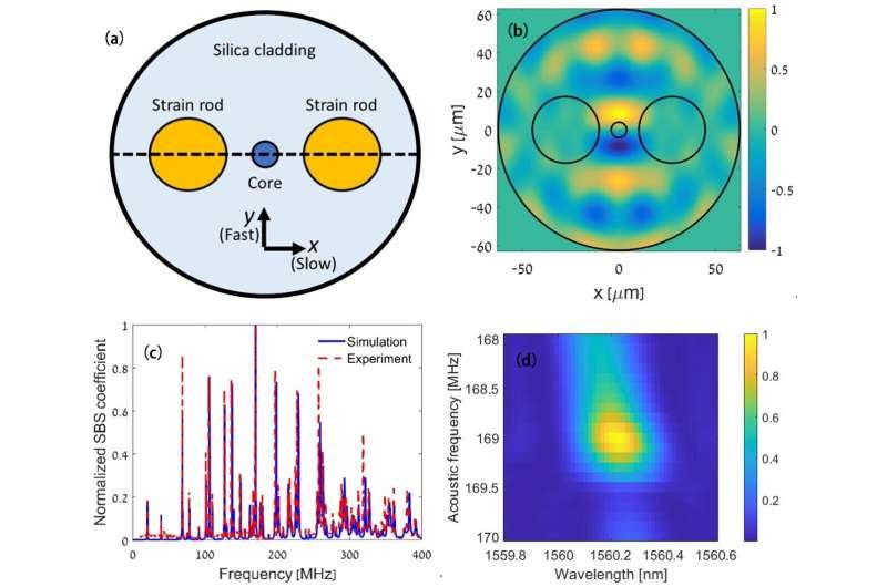 Opto-mechanical non-reciprocity in fiber