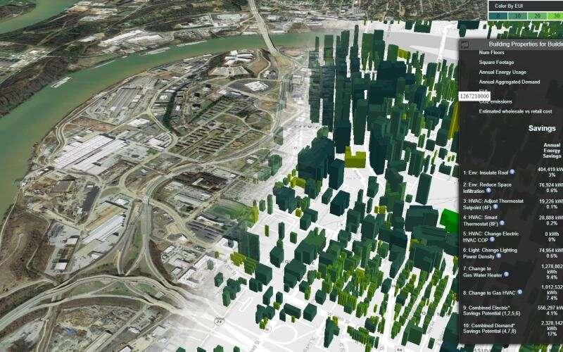 ORNL's simulation tool creates digital twin of buildings from coast to coast