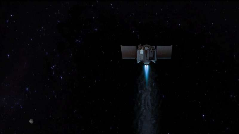 OSIRIS-REx mission plans for May asteroid departure