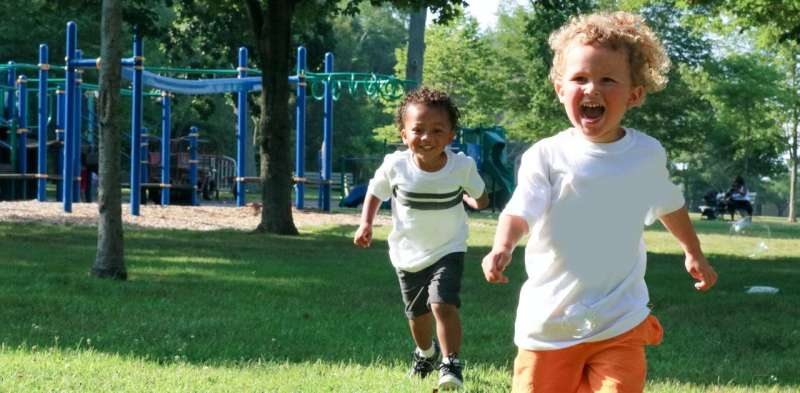 Outdoor play in shorter, more frequent windows can boost physical activity in early learning settings