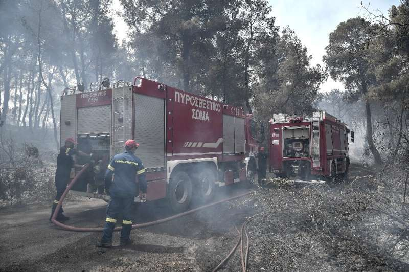Over 180 firefighters have been deployed to the area