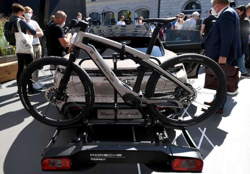 Over 70 bicycle brands are at the Munich motor show to peddle vehicles on two wheels