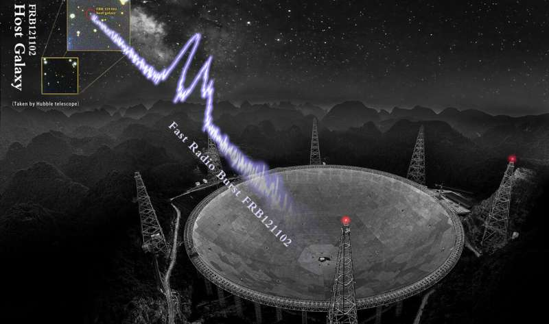 Over a thousand cosmic explosions in 47 days detected by FAST