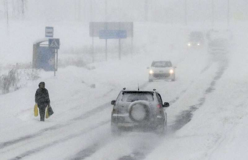 Over 13,500 snowploughs and 60,000 workers have been deployed to deal with the extreme weather