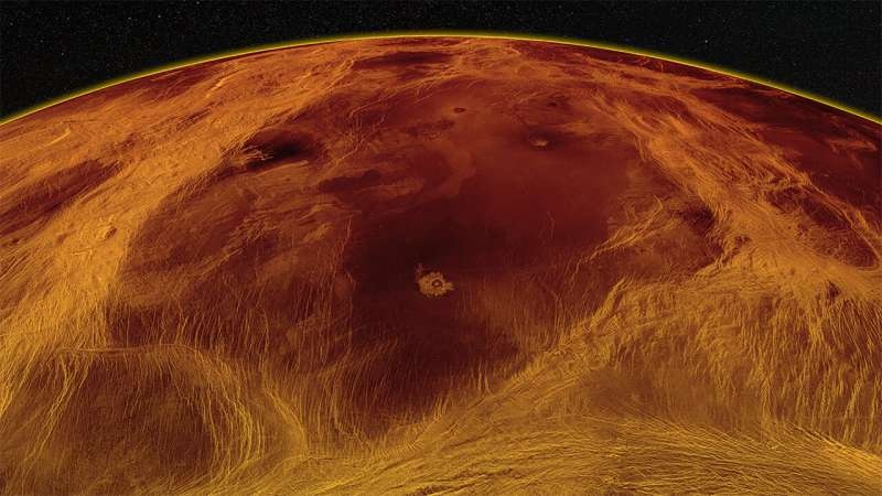 'Pack ice' tectonics reveal Venus' geological secrets