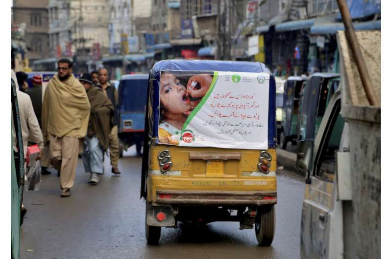 Pakistan launches new anti-polio drive amid tight security
