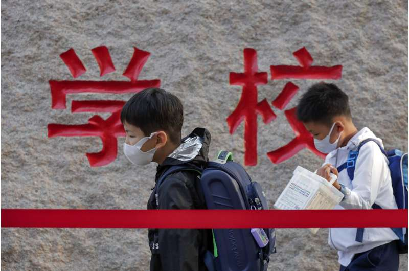 Pandemic tie to vision issues seen in Chinese kids' study