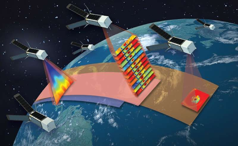 Pathfinder satellite paves way for constellation of tropical-storm observers