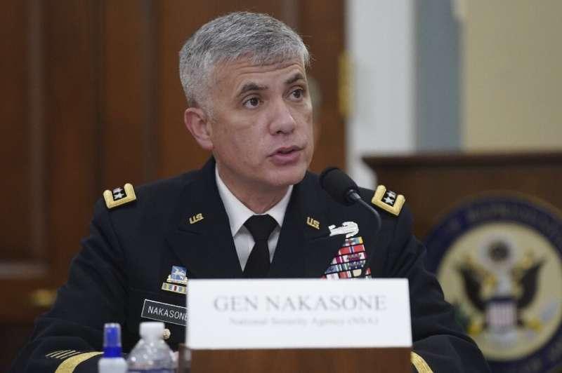 Paul Nakasone, directeur de la National Security Agency (NSA) et commandant du US Cyber Command, prend la parole lors d'une House Inte 2021
