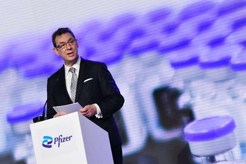 Pfizer CEO Albert Bourla says a new version of the group's coronavirus vaccine is in the pipeline and will be effective against