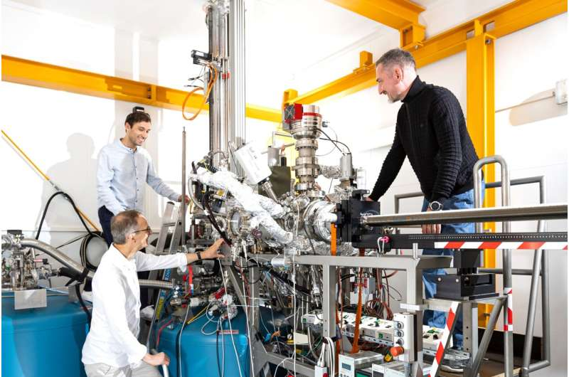 Physicists develop a unique scanning tunnelling microscope with magnetic cooling to study quantum effects