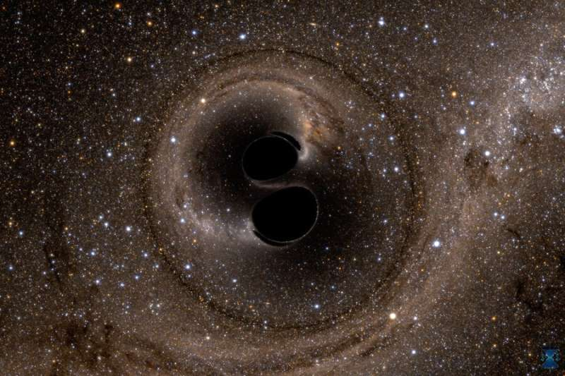 Physicists observationally confirm Hawking's black hole theorem for the first time
