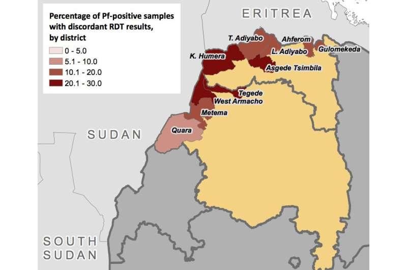 Plasmodium falciparum evolving to escape malaria rapid diagnostics in Africa