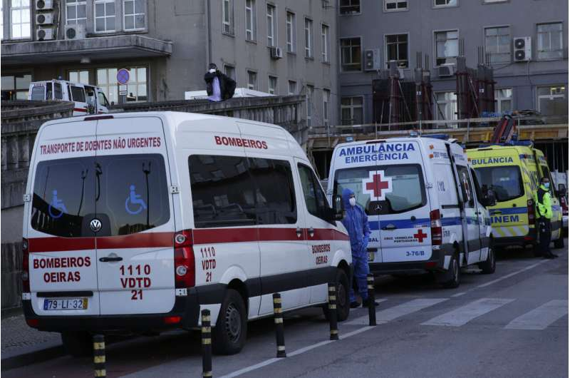Portugal tightens lockdown as pandemic surge breaks records thumbnail