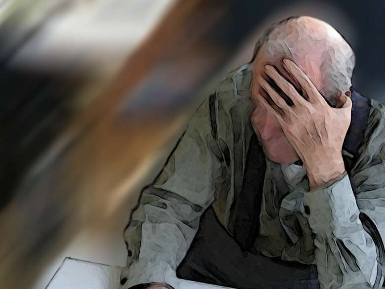 Postural hypotension in older adults related to poor cognition