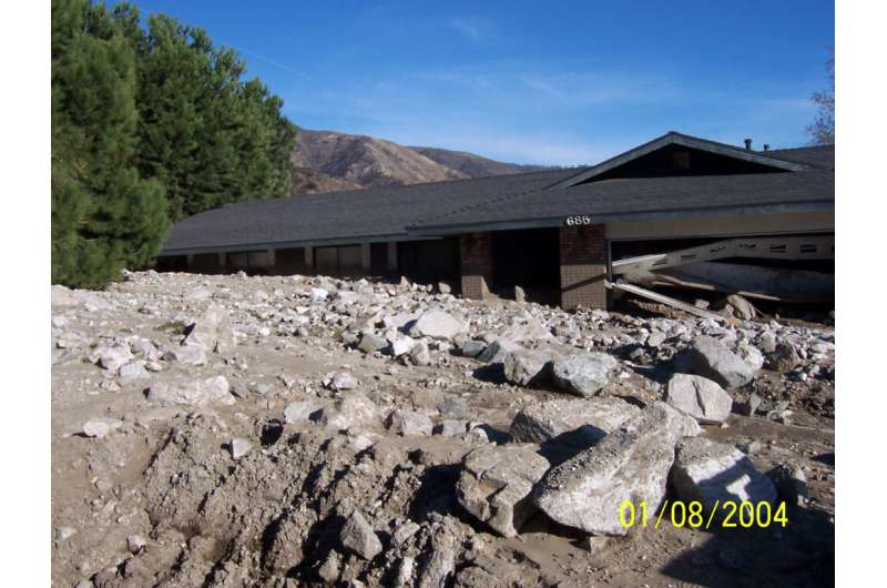 Post-wildfire landslides becoming more frequent in southern California