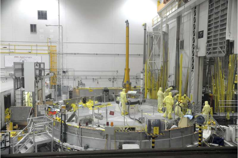 Powerful US nuclear test reactor getting rare major overhaul
