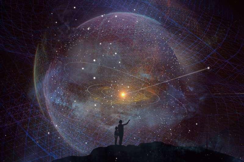 Probing deep space with Interstellar