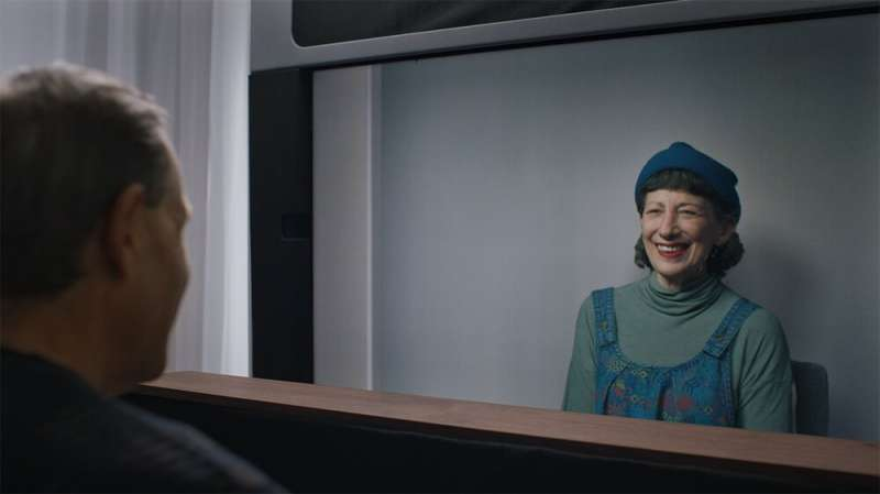Project Starline: Google's video chat makes it look like users are physically in the same room