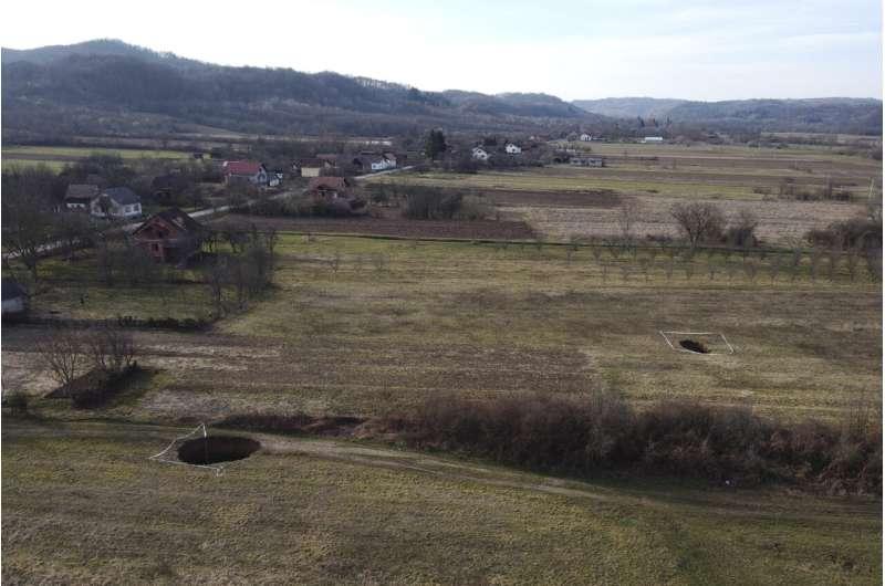Quake-ravaged part of Croatia sees gaping sinkholes emerge