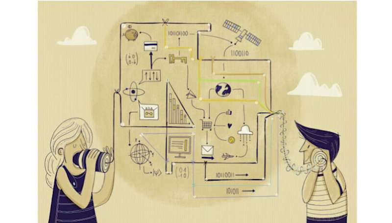 Quantum effects help minimise communication flaws
