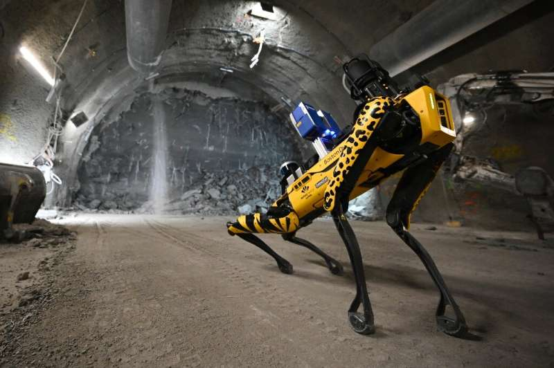 """""""Scar"""" at the Cigeo lab in eastern France, destined to house thousands of tons of nuclear waste."""