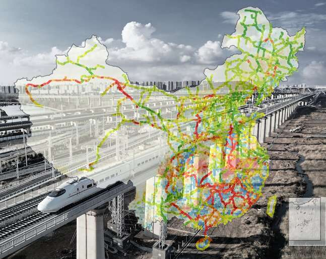 Railway infrastructure susceptible to greater damages from climate change