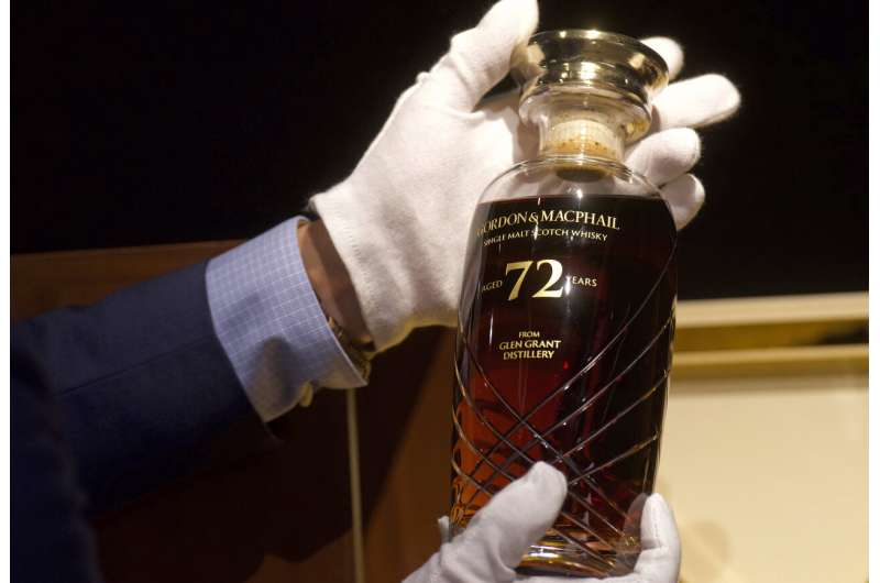 Rare 72-year-old Scotch whisky to be auctioned in Hong Kong