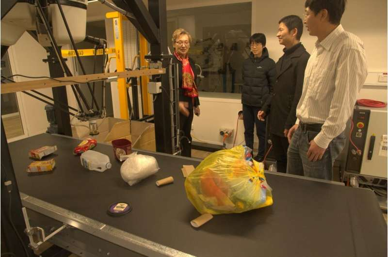 Recycling robot could help solve soft plastic waste crisis