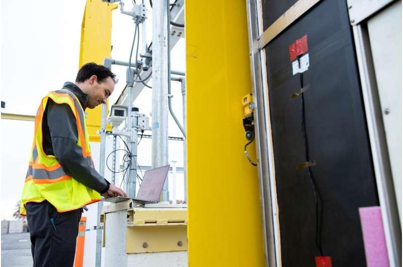 Refonte des moniteurs de rayonnement dans les ports américains