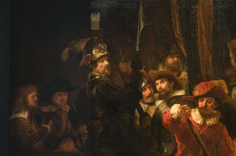 Rembrandt's huge 'Night Watch' gets bigger thanks to AI