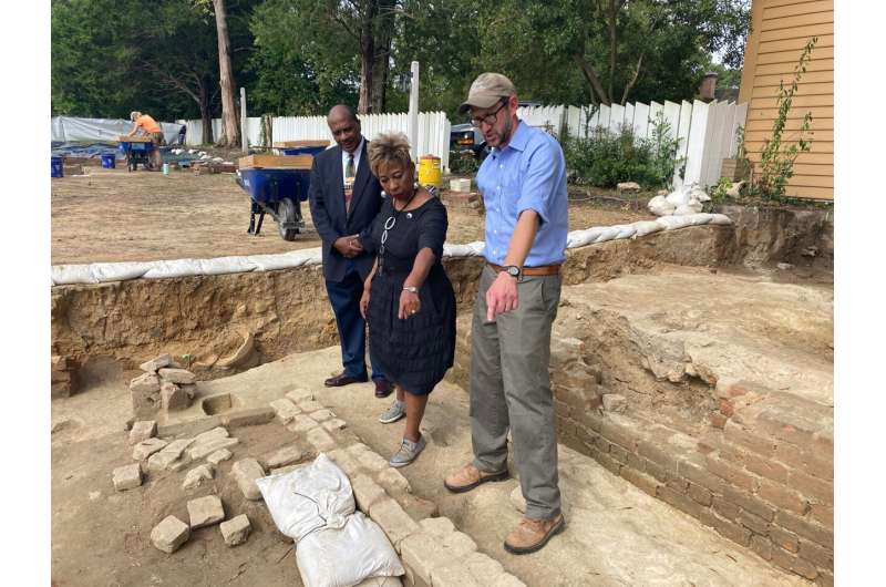 Remnants of Black church uncovered in Colonial Williamsburg