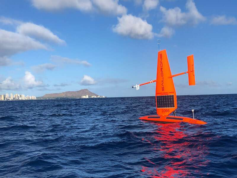 Remote-controlled ocean drones observe atmospheric cold pools
