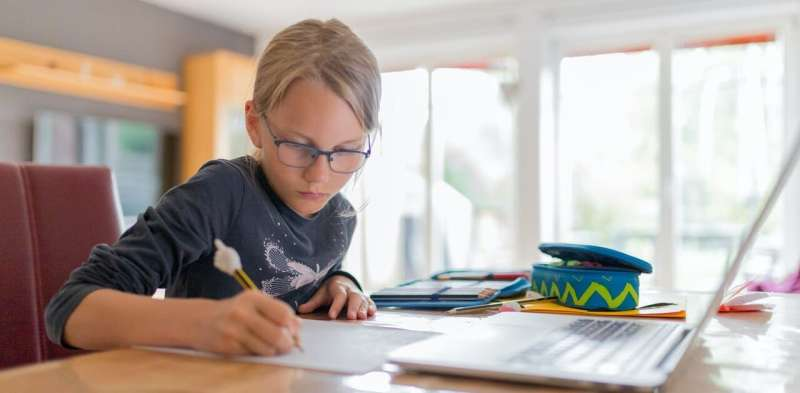 Remote learning didn't affect most NSW primary students in our study academically—but well-being suffered
