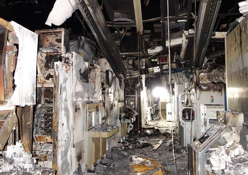 Renesas Electronics saw 600 square metres of factory floor damaged in the blaze