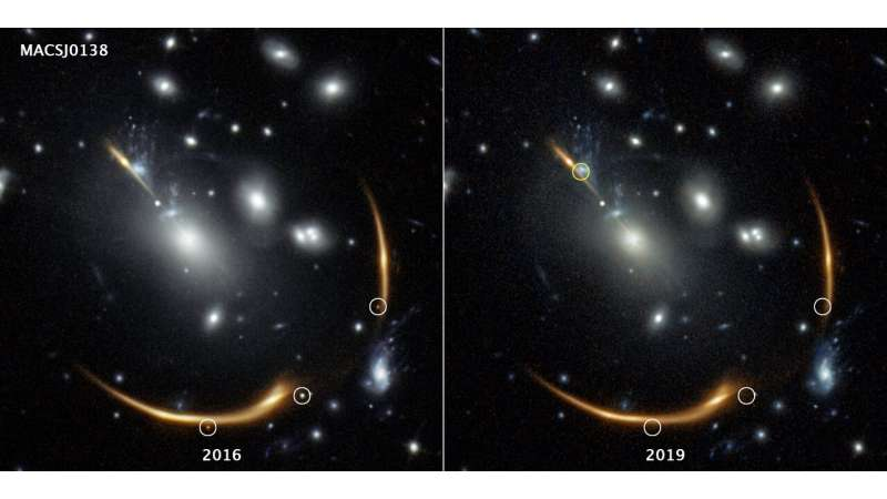 Rerun of supernova blast expected to appear in 2037