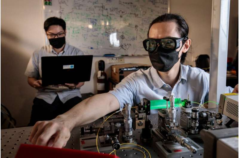 Researchers bring attack-proof quantum communication two steps forward