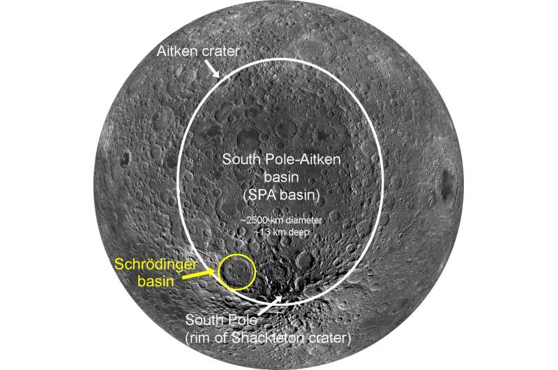 Researchers create new lunar map to help guide future exploration missions