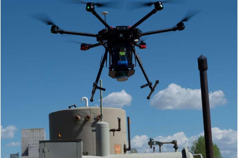 des chercheurs développent un meilleur moyen de suivre le méthane dans le ciel