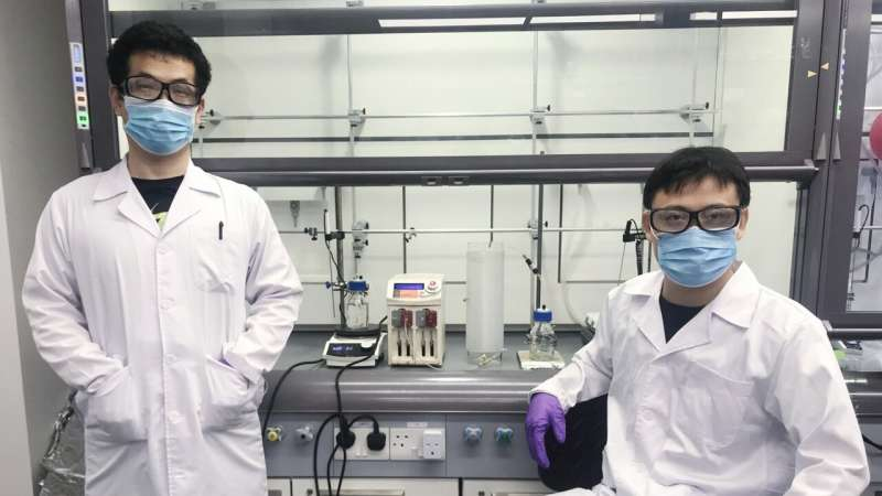 Researchers develop novel technique to automate production of pharmaceutical compounds
