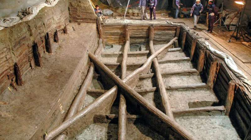 Researchers link ancient wooden structure to water ritual
