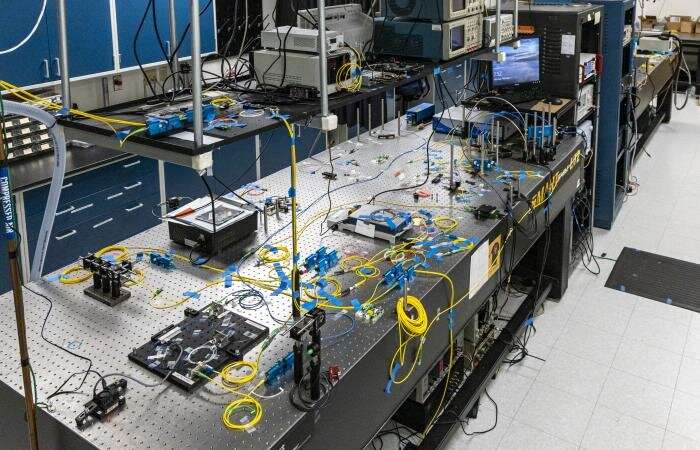 Researchers reach quantum networking milestone in real-world environment
