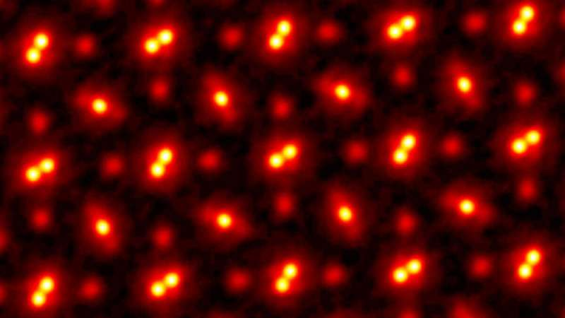 Researchers see atoms at record resolution