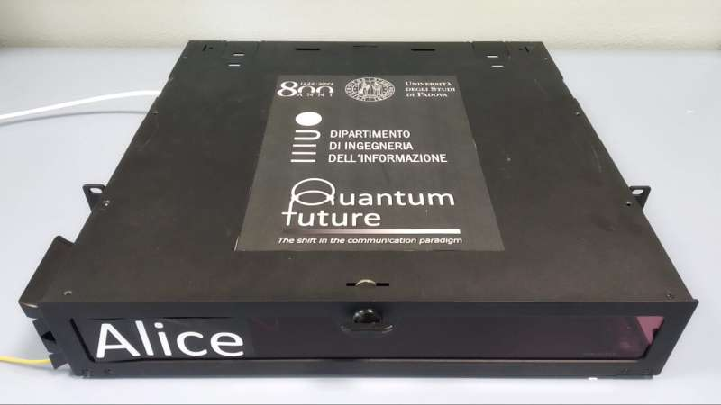 Researchers take quantum encryption out of the lab