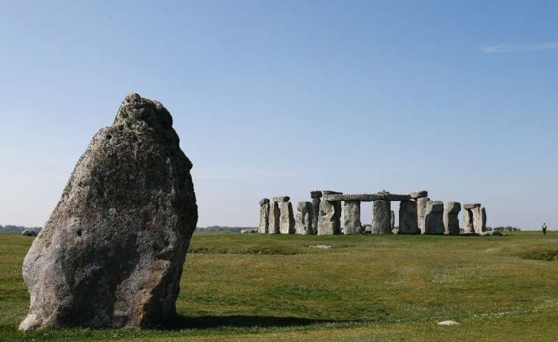 Researchers believe some stones used at Stonehenge, near Salisbury in southwest England, were used in an earlier monument 175 mi
