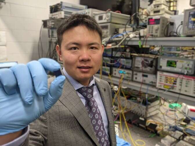 Research team demonstrates world's fastest optical neuromorphic processor