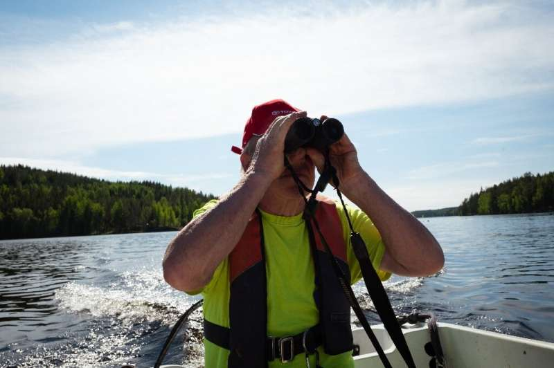 Retiree Risto Eronen has sincechildhood closely watched the seals, which are found only in the lake's fresh waters