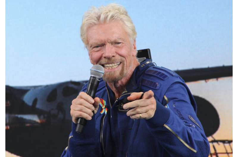 Richard Branson's flight sparks new optimism in New Mexico